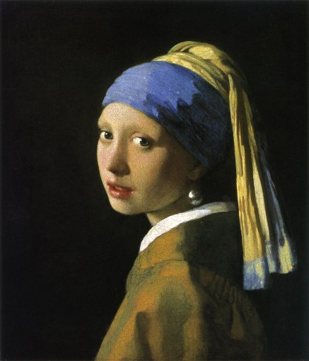 1665-66頃 真珠の耳飾りの少女 46.5x40