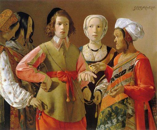 女占い師 1636-1639 メトロポリタン美術館