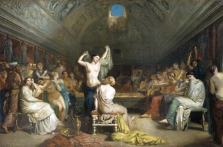 _chasseriau_theodore_-_the_tepidarium_-_1853_from_musee_d_orsay